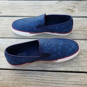 Ralph Lauren Polo Mens Mytton Slip On Shoes 9.5D